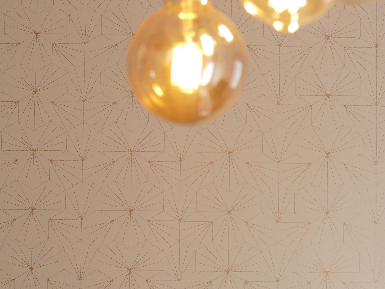 papier peint géométrique