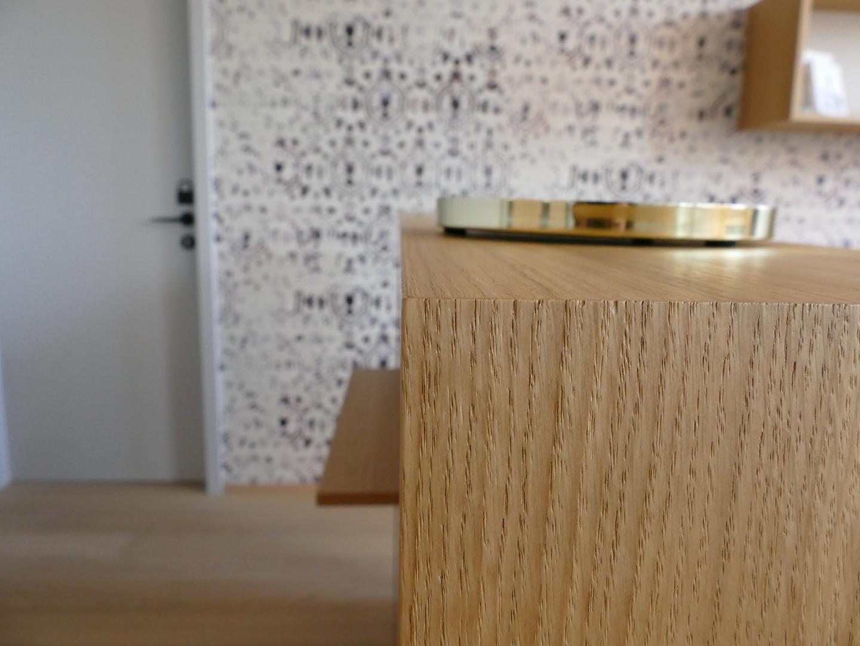 mobilier sur mesure bois et laque